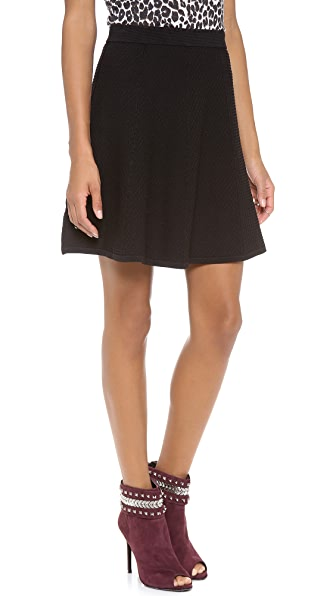 Rebecca Taylor Diamond Stretch Skirt
