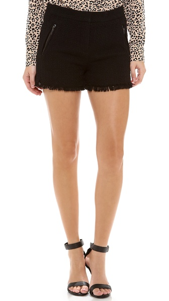 Rebecca Taylor Tweed Shorts