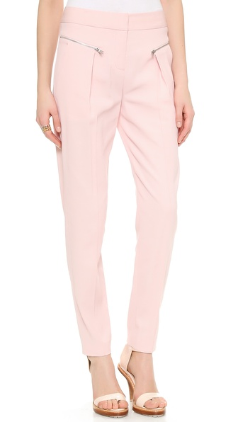 Rebecca Taylor Suiting Trousers - Nude at Shopbop / East Dane