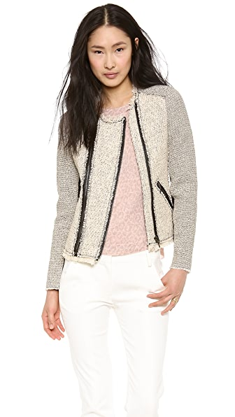 Rebecca Taylor Combo Tweed Jacket
