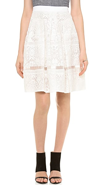 Rebecca Taylor Lace Skirt