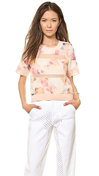 Rebecca Taylor Enchanted Gardens Top