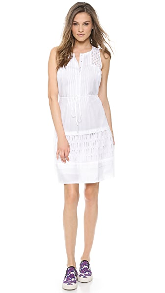 Rebecca Taylor Drawstring Waist Dress