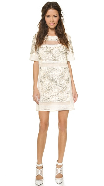 Rebecca Taylor Embellished Dress