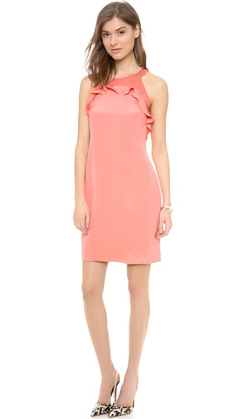 Rebecca Taylor Ruffle Shift Dress