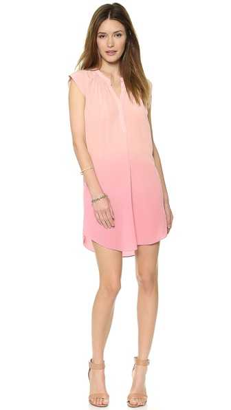 Rebecca Taylor Dip Dye Shift Dress