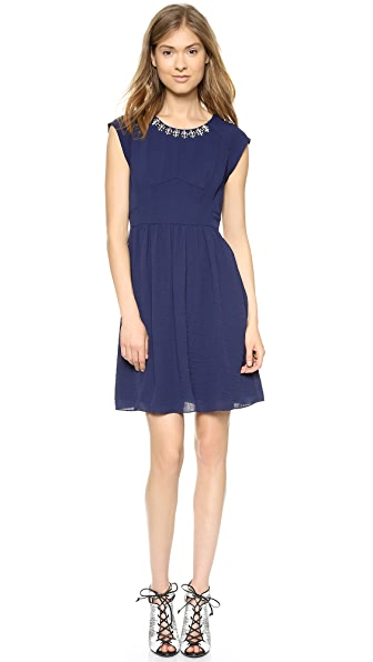 Rebecca Taylor Beaded Easy Dress