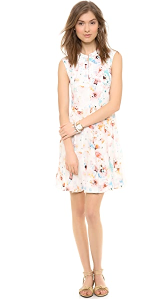 Rebecca Taylor Poppy Godet Dress