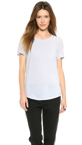 Rebecca Taylor Open Back Tee