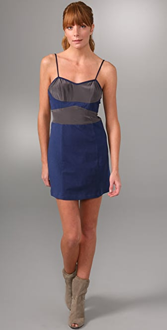 Re Collection Colorblock Cami Dress