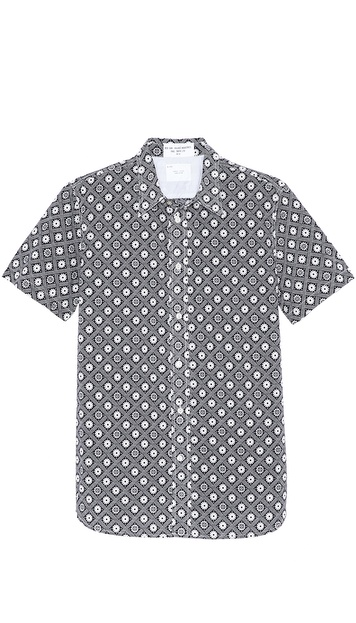 Paul Smith Red Ear Short Sleeve Floral Shirt