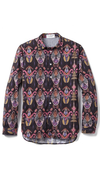 Paul Smith Red Ear Printed Shirt