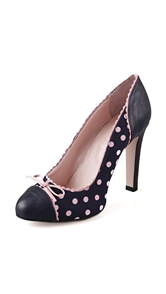 RED Valentino Polka Dot Pumps