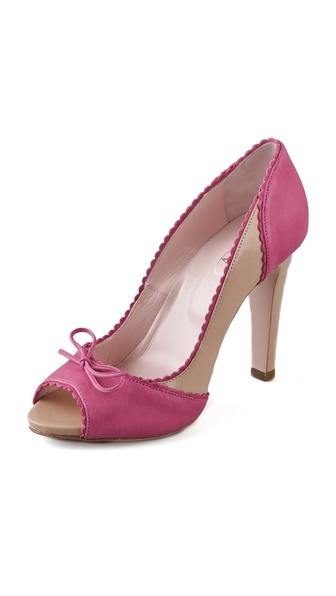 RED Valentino Open Toe Pumps