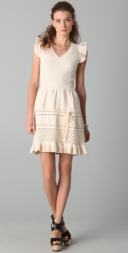 RED Valentino Sleeveless Knit Dress