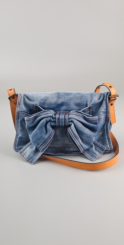 RED Valentino Denim Bow Bag