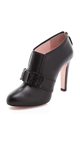 RED Valentino High Heel Booties with Bow