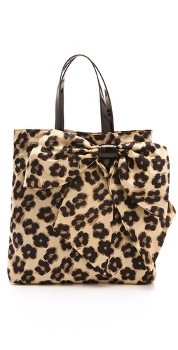 RED Valentino Leopard Print Tote