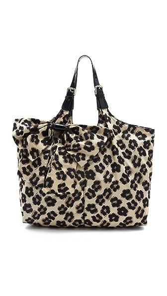 RED Valentino Leopard Print Shoulder Bag