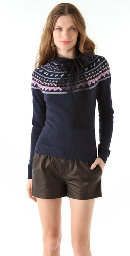 RED Valentino Fair Isle Sweater