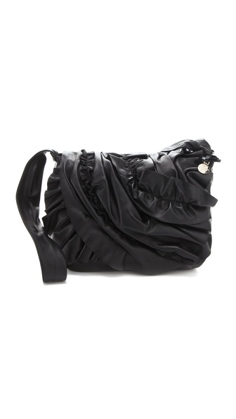 RED Valentino Ruffle Cross Body Bag