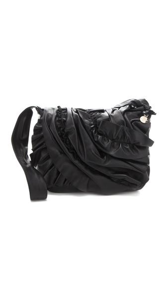 RED Valentino Ruffle Cross Body Bag