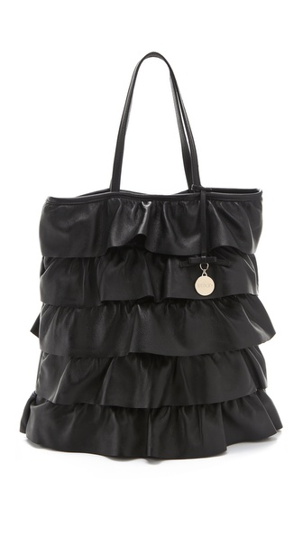 RED Valentino Ruffle Tote