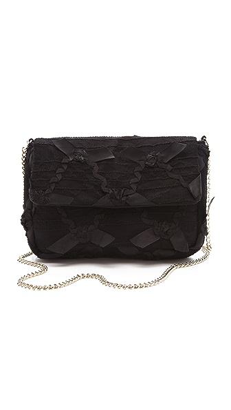 RED Valentino Lace Shoulder Bag