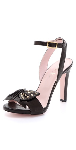 RED Valentino Studded Bow Sandals
