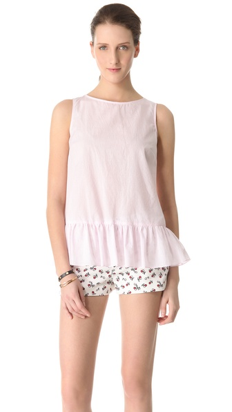 RED Valentino Drop Waist Top