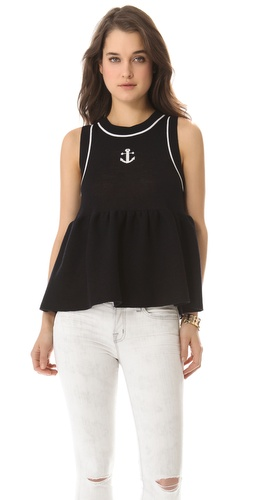 RED Valentino Anchor Knit Top at Shopbop.com