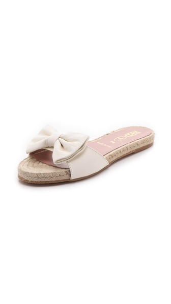 RED Valentino Bow Slide Espadrilles
