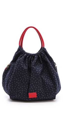 Shop RED Valentino Denim Top Handle Bag and RED Valentino online - Accessories,Womens,Handbags,Hobo, online Store