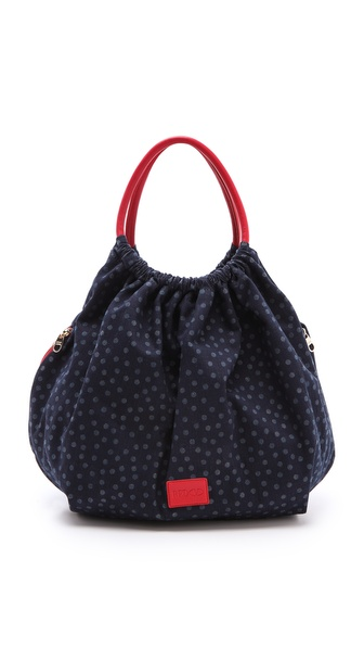 RED Valentino Denim Top Handle Bag