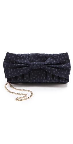 RED Valentino Denim Pois Shoulder Bag at Shopbop.com