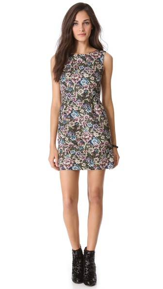 RED Valentino Gobelin Print Dress