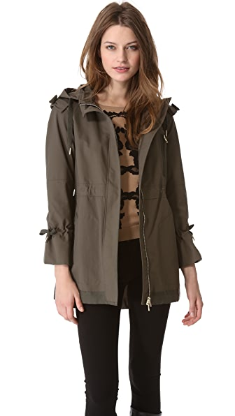 RED Valentino Bows & Ribbons Parka