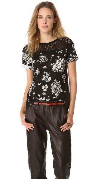 RED Valentino Flower Top