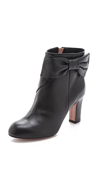 RED Valentino Mid Heel Bow Booties
