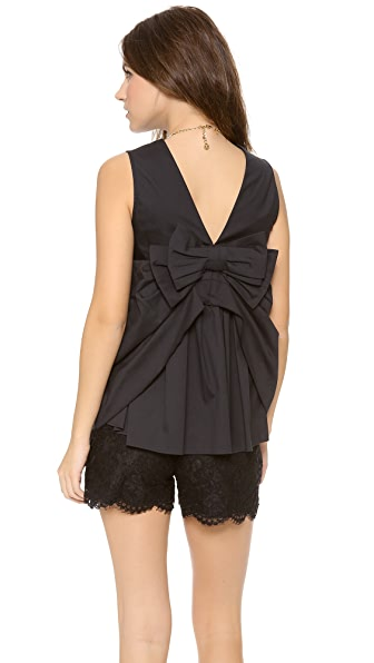 RED Valentino Bow Back Top