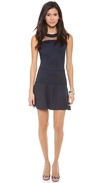 RED Valentino Jersey Interlock Dress