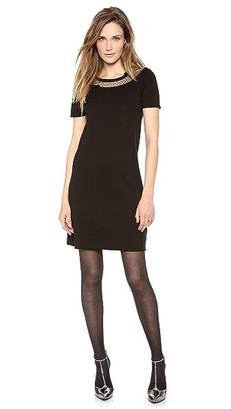 RED Valentino S/S Merino Wool Dress