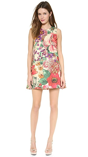 RED Valentino Macroflower Print Dress