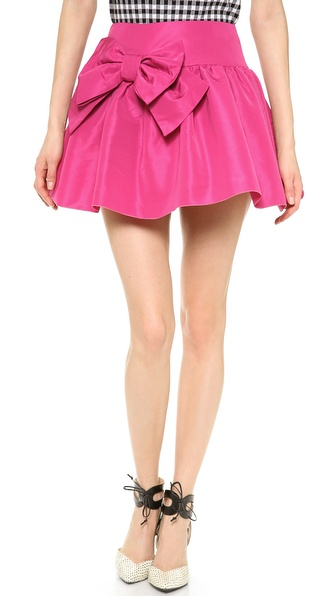 RED Valentino Bow Skirt