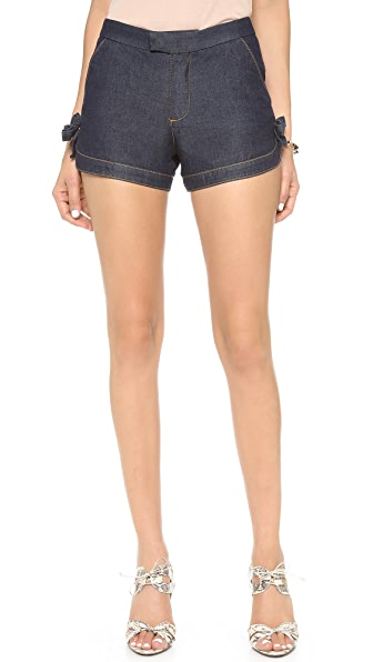 RED Valentino Denim Shorts