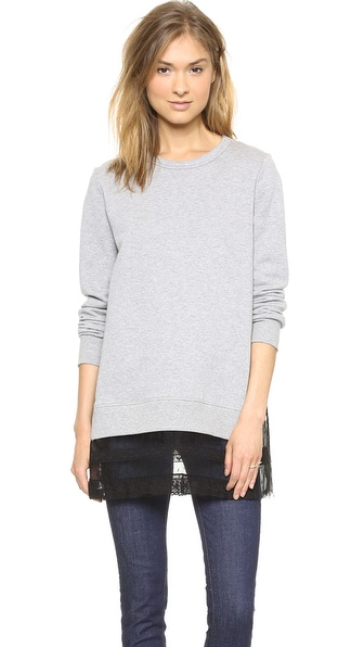 RED Valentino Point d'Espirit Sweatshirt
