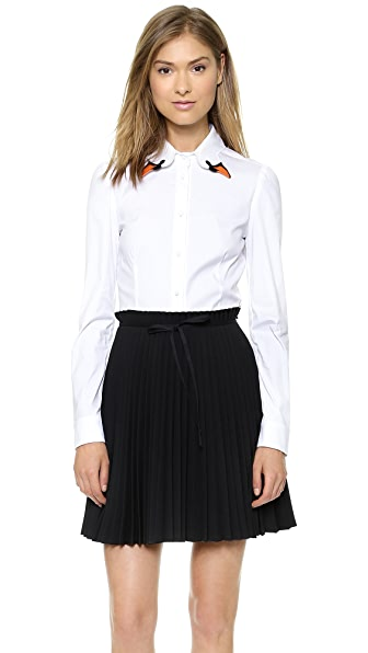 RED Valentino Poplin Blouse