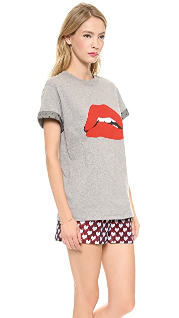 RED Valentino Lips T 恤