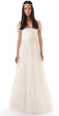 Reem Acra I Am Beautiful Dress