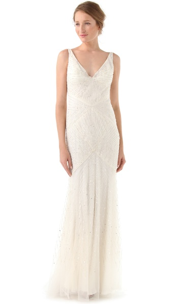 Reem Acra Angelica Gown